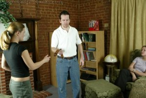 Real Spankings - Jennifer & April: Late & Spanked - image 7