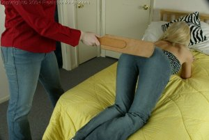 Real Spankings - Paige Strapped By Betty - image 12