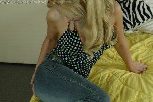 Real Spankings - Paige Strapped By Betty - image 6