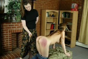 Real Spankings - Michelle Spanked For Not Wearing A Bra - image 13
