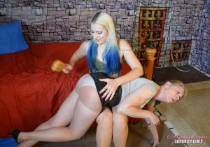 Spanking Sorority Girls - Dria Gets A Revenge Spanking - image 3