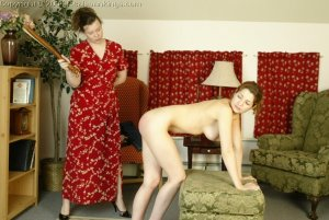 Real Spankings - Michelle's Nude Strapping - image 4