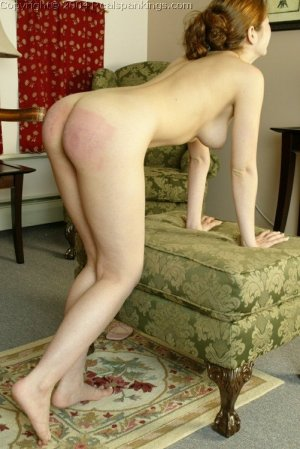 Real Spankings - Michelle's Nude Strapping - image 17