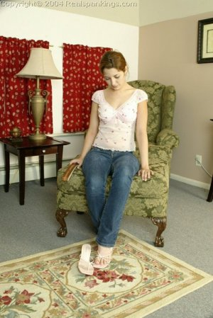Real Spankings - Michelle's Nude Strapping - image 16