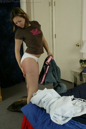 Real Spankings - Kim Spanked By Betty Pt. 2 - image 7