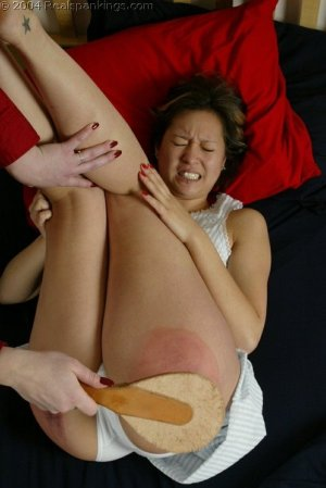 Real Spankings - Kim Spanked By Betty Pt. 2 - image 16