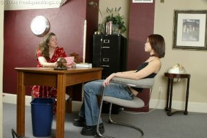 Real Spankings - Kailee Paddled At School - image 2