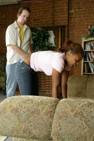 Real Spankings - Roxanne And Becky's Meeting With The Belt - image 16