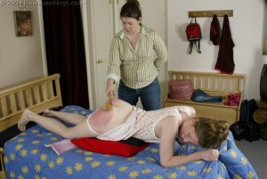 Real Spankings - Kathy Spanked By Lady D Pt. 2 - image 3