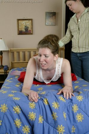 Real Spankings - Kathy Spanked By Lady D Pt. 2 - image 5