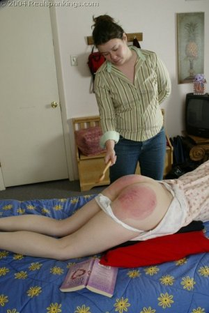 Real Spankings - Kathy Spanked By Lady D Pt. 2 - image 14