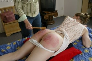 Real Spankings - Kathy Spanked By Lady D Pt. 2 - image 7