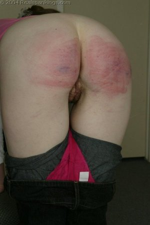 Real Spankings - Kathy's School Strokes - image 5