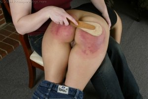 Real Spankings - Cindy's Spanking Test - image 13