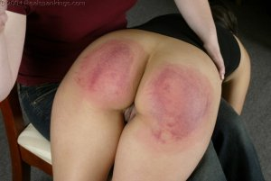 Real Spankings - Cindy's Spanking Test - image 8