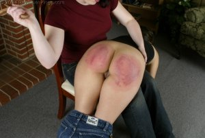 Real Spankings - Cindy's Spanking Test - image 11