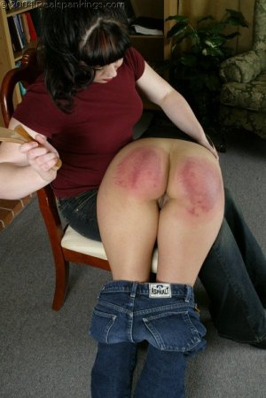Real Spankings - Cindy's Spanking Test - image 10