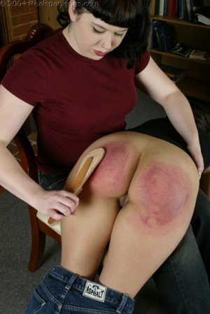 Real Spankings - Cindy's Spanking Test - image 16