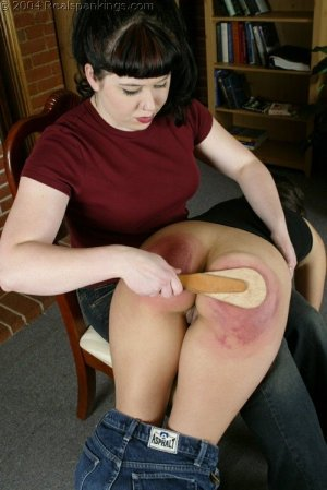 Real Spankings - Cindy's Spanking Test - image 6