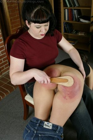 Real Spankings - Cindy's Spanking Test - image 18
