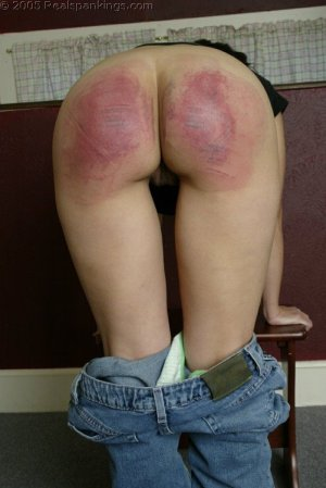 Real Spankings - Cindy's School Strokes - image 5