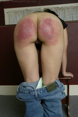 Real Spankings - Cindy's School Strokes - image 7