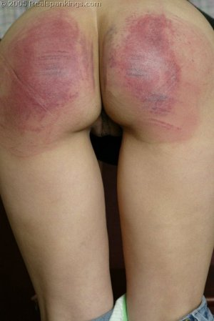 Real Spankings - Cindy's School Strokes - image 4