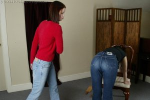 Real Spankings - Kailee Spanks Cindy - image 2