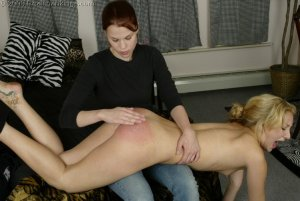 Real Spankings - Sarah Gets Spanked For Cheating - image 7
