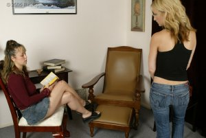 Real Spankings - Sarah Is Spanked Otk For Taking The Car - Part 1 - image 12