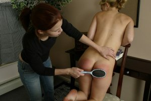 Real Spankings - Sarah Gets Spanked For Cheating - image 9