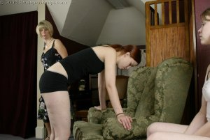 Real Spankings - Kailee And Lily Spanked Together - Part 2 - image 13