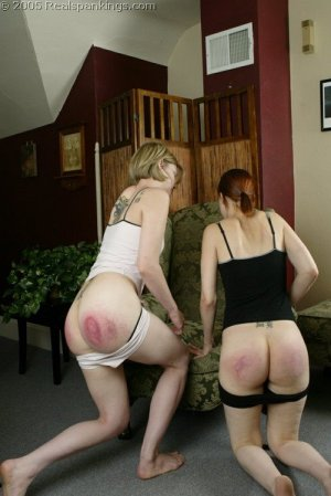 Real Spankings - Kailee And Lily Spanked Together - Part 2 - image 7