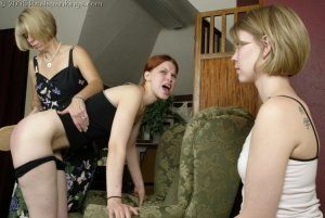 Real Spankings - Kailee And Lily Spanked Together - Part 2 - image 5