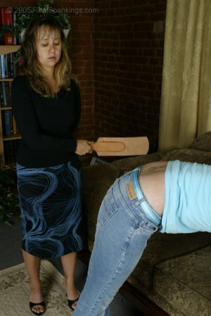 Real Spankings - Brooke's Hard Strapping - image 9