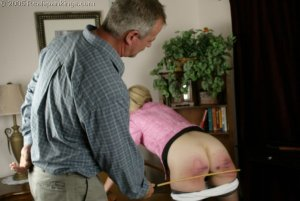 Real Spankings - Mr. Daniels Spanks Ms. Burns Pt. 2 - image 9