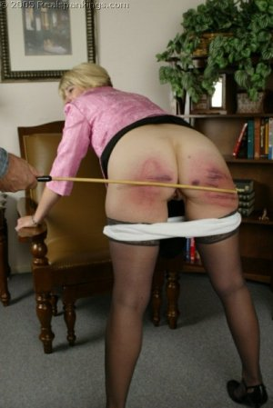 Real Spankings - Mr. Daniels Spanks Ms. Burns Pt. 2 - image 7