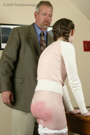 Real Spankings - Bailey Is Spanked For Forgery - Part 1 - image 1