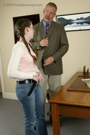 Real Spankings - Bailey Is Spanked For Forgery - Part 1 - image 8