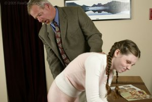 Real Spankings - Bailey Is Spanked For Forgery - Part 1 - image 3