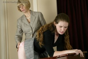 Real Spankings - Bailey Spanked In Class - image 1