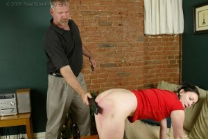 Real Spankings - Brooke's Strapping - image 1
