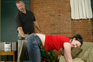 Real Spankings - Brooke's Strapping - image 7