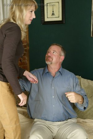 Real Spankings - Stacey Is Spanked For Overspending - image 4