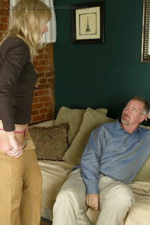 Real Spankings - Stacey Is Spanked For Overspending - image 7