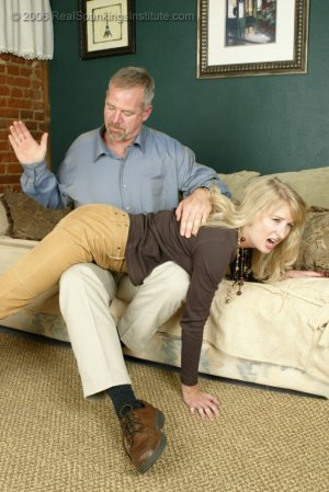 Real Spankings - Stacey Is Spanked For Overspending - image 12
