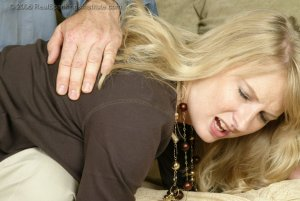 Real Spankings - Stacey Is Spanked For Overspending - image 13