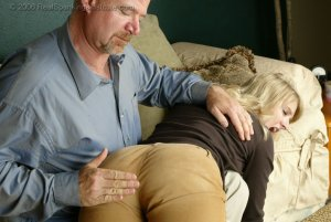 Real Spankings - Stacey Is Spanked For Overspending - image 18