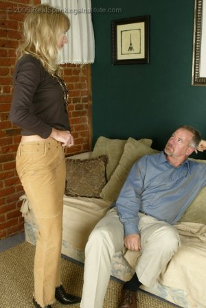 Real Spankings - Stacey Is Spanked For Overspending - image 1