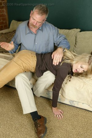Real Spankings - Stacey Is Spanked For Overspending - image 11